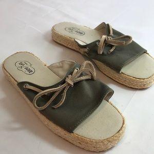 Sperry women's canvas sandals size 6